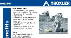 troxler 3430 radioactive dating